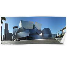 Walt Disney Concert Hall LA Poster