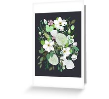 Floral Forest Greeting Card
