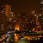 CHICAGO BY NIGHT by Gaby Swanson  Photography