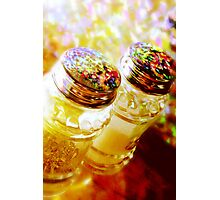 salt and  pepper Photographic Print
