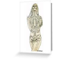 Femme Fatale Greeting Card