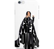 Severus Snape iPhone Case/Skin