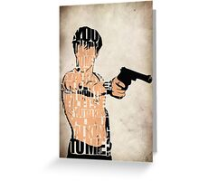 Travis Bickle Greeting Card