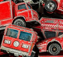 Toy Cars - Red by zingarostudios