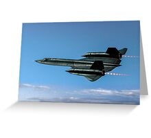 Lockheed SR-71A 64-17973 Greeting Card
