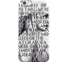 daenerys stormborn iPhone Case/Skin