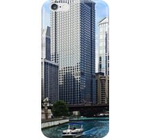 Chicago IL - Chicago River Near Wabash Ave. Bridge iPhone Case/Skin