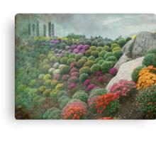 Chrysanthemum Garden - Ott's Greenhouse Schwenksville PA Canvas Print