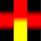 Black - Yellow - Red by Benedikt Amrhein
