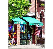Toy Shop Bristol, RI Photographic Print