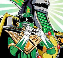 MMPR - Dragonzord by averagejoeart