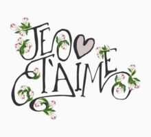 Je T'aime Flowers Kids Clothes
