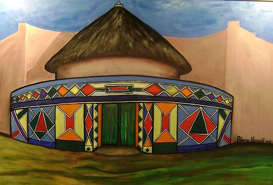 Ndebele Office by pilanehimself