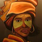 Xhosa lady by pilanehimself