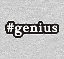 Genius - Hashtag - Black & White Kids Clothes