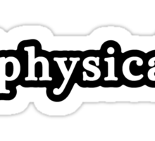 Physical - Hashtag - Black & White Sticker