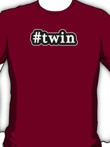 Twin - Hashtag - Black & White T-Shirt