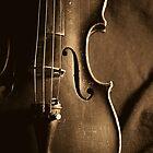 Violin in Sepia by Davidlee