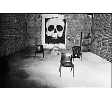 A Sleepers Dream In The Tomb Of The Unknown Human Photographic Print