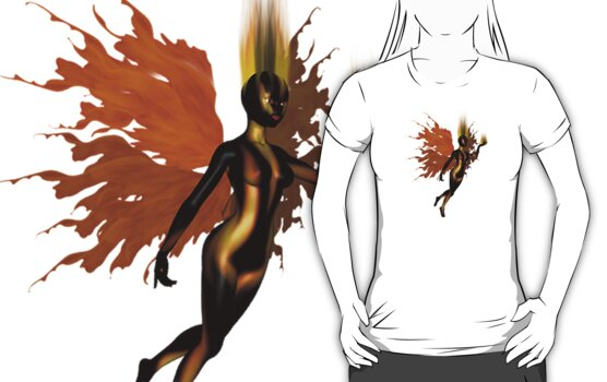 The Fire Collector - Tee by Rhonda Blais
