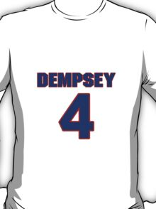 Basketball player George Dempsey jersey 5 T-Shirt