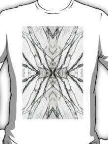 White marble butterfly phone case T-Shirt