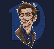 The Tenth Doctor by RoguePlanets