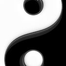 Yin Yang phone cases and stickers by Steve Crompton