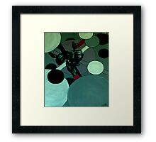 get out of my head....stirring my brains....u don't even know the ingredients!!!! Framed Print