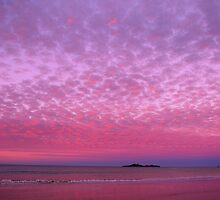 Fairy Floss Sunset by Rhana Griffin
