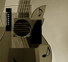 Cubism Guitar by aelend