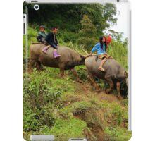 Joyful Children VII - Sa Pa, Vietnam. iPad Case/Skin