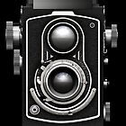 Vintage Twin Lens Reflex (TLR) camera phone cases by Steve Crompton