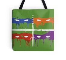 Teenage Graffiti Tote Bag
