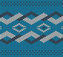 knitted pattern by doba