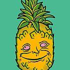Happy Pineapple by yaymmmpineapple