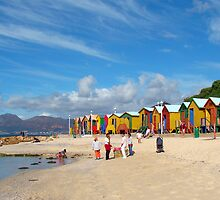 Beach Huts by shaariq