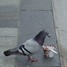Feed the Birds (detail) by Beth Bernett