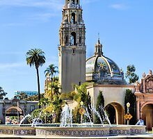 Balboa Park Fountain by Jane Girardot