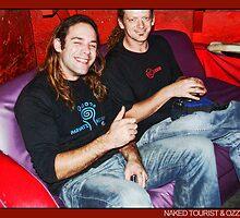 dj Iguana (Naked Tourist/Germany) & Ozzy (Tribeadelic/Australia) by OZDOOF