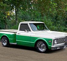 1971 Chevrolet C10 Stepside Pickup 2 by DaveKoontz