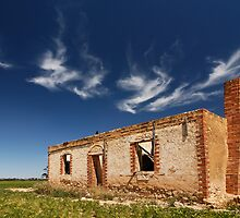 Ruined on Wimmera  by Robert Mullner