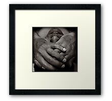 learn to see Framed Print