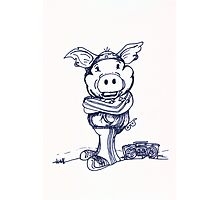 Mofo Pig Photographic Print