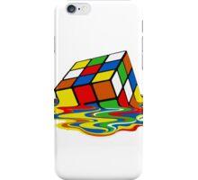 Melting Rubics Cube Geek iPhone Case/Skin