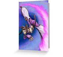 Street Fighter IV - Juli Greeting Card