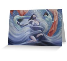 Dream Dancing (Given to the 2009 bushfire appeal) Greeting Card