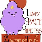 Lumpy Space Princess by Jamie Thew