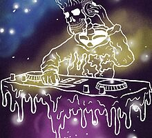 DJ in Space by Connor Piper