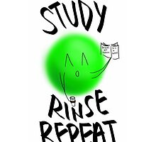 STUDY, RINSE, REPEAT -- v2 by fill14sketchboo